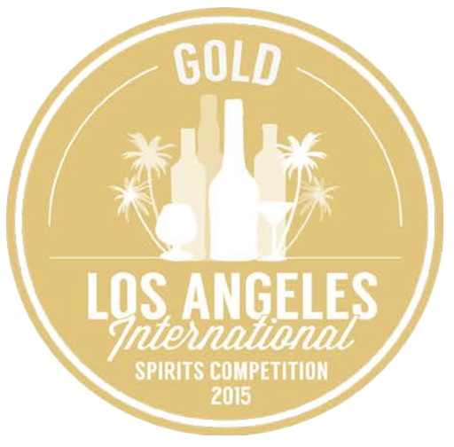 Image award for Los Angeles International Spirits Competition Gold for 2015