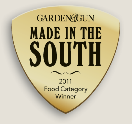 Image award for Garden and Gun Made in the south food category winner for 2011