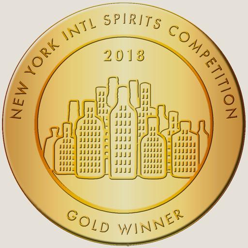 Award Image for New York International Spirits Competition Gold Winner for 2018