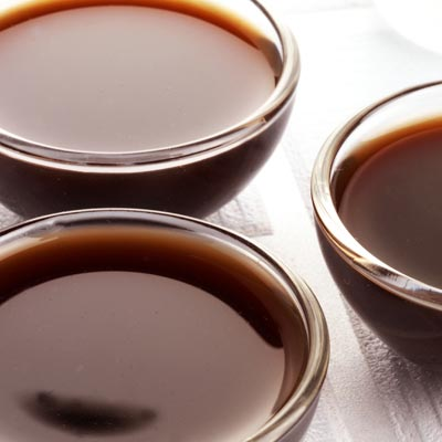 image of three bowls of worcestershire sauce