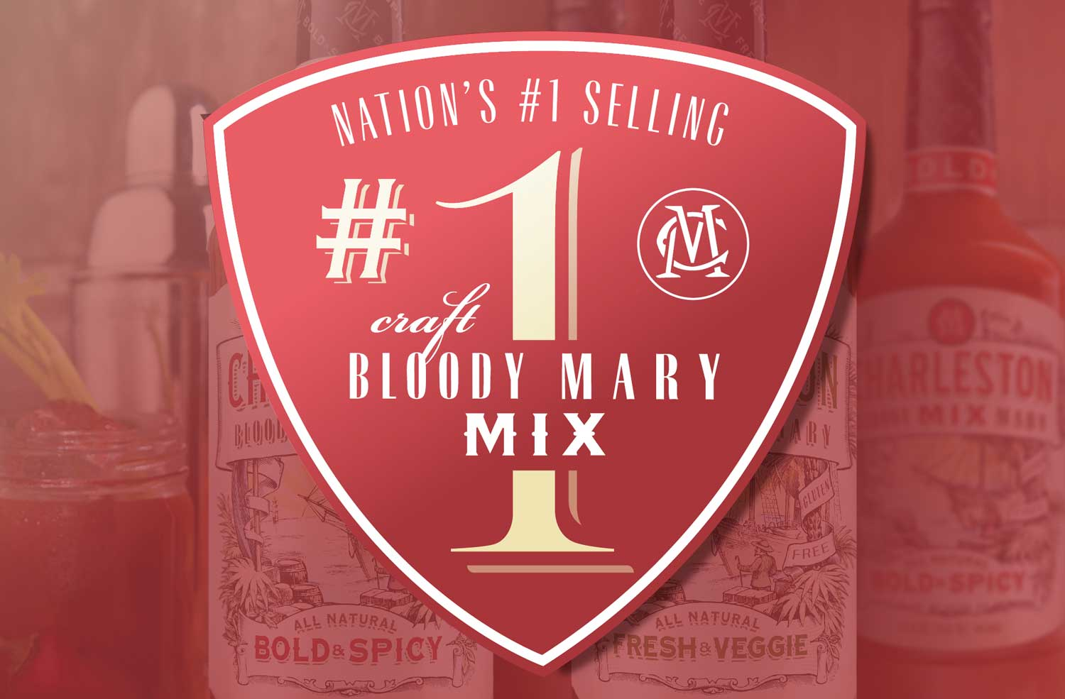 Charleston Bloody Mary Mix is #1